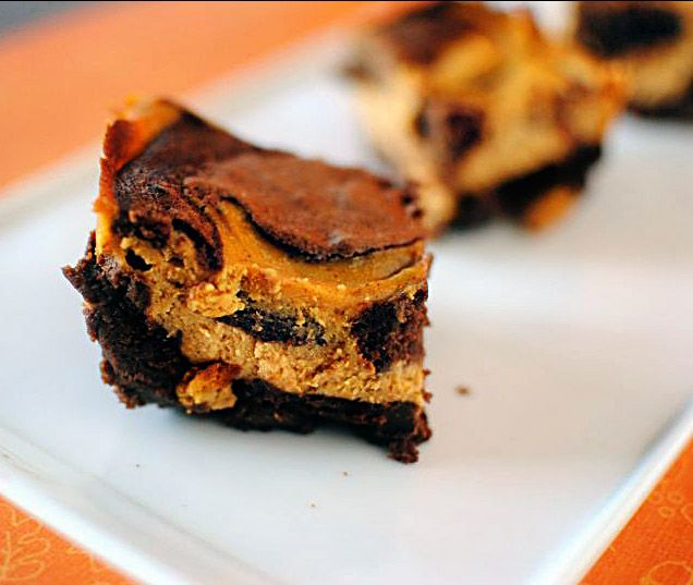 Pumpkin Cheesecake Swirl Brownies | Brownies and Bars | Pinterest
