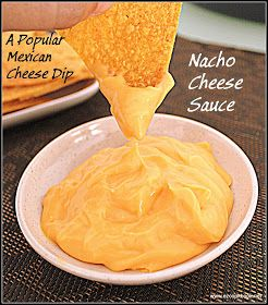 EzCookBook: Homemade Nacho Cheese Sauce | Cheddar Cheese Dip