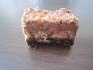 Peanut Butter Crunch Brownies | Cookies & Squares | Pinterest