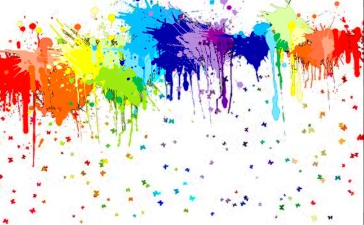 splatter paint take splat pinterest. Black Bedroom Furniture Sets. Home Design Ideas