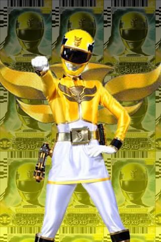 yellow power ranger megaforce - photo #32