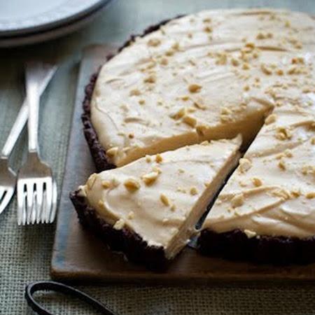 Creamy Peanut Butter Pie | Crema de cacahuate | Pinterest