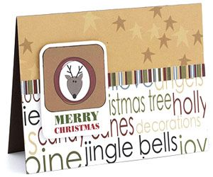 Work With an Adaptable Card Template to Make Quick Work of Holiday Cards