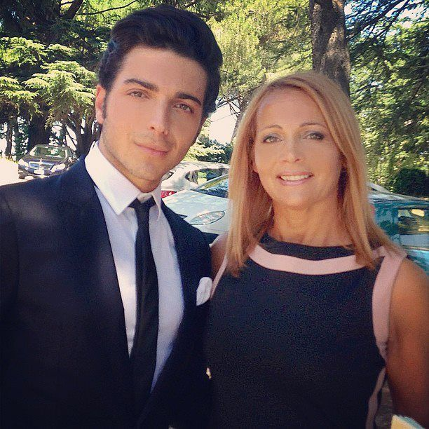 Gianluca and his beautiful Mother Elenora