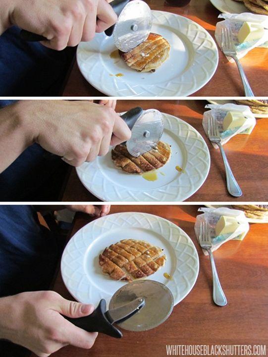 pancake cutting made easy!