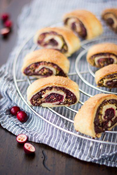 Gluten-Free Cranberry Chocolate Rugelach.