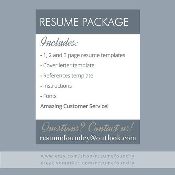 Resume Reference List Layout