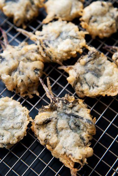shiso spicy tuna tempura recipe | use real butter