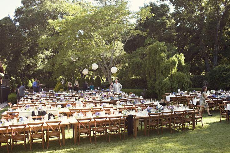 great backyard wedding  Holiday  Pinterest