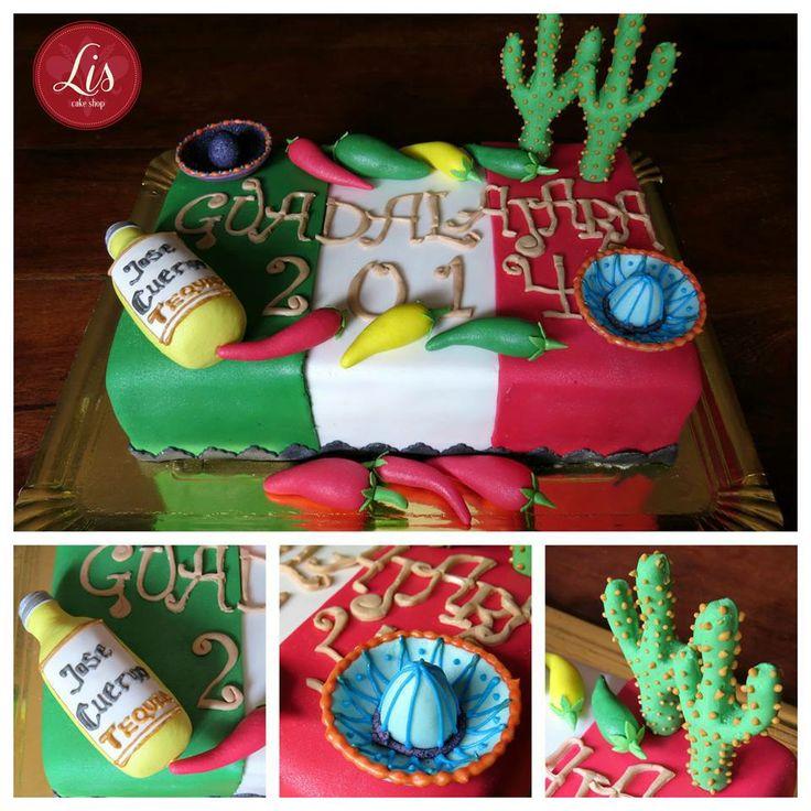 #Mexico #cake