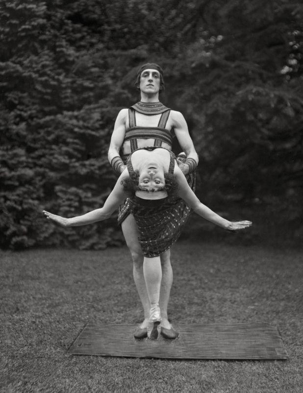 Anna Pavlova with Ivan Novikoff, c.1923