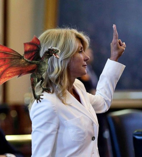 Wendy Davis, mother of dragons