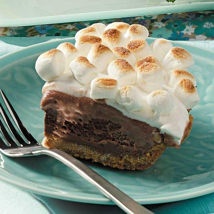 Smores ice cream pie | Sweets! | Pinterest