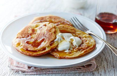 Banana Buttermilk Pancakes - Tesco Real Food - Tesco Real Food