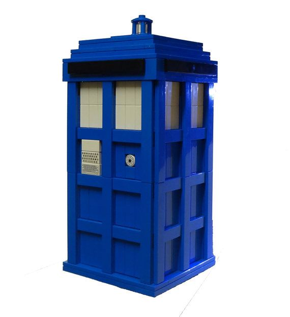 The blue police box by foldedfancy on etsy 275 00