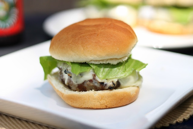 Man Food: 50/50 Bacon Burger | Beef Entrees | Pinterest
