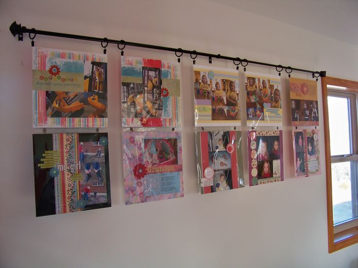Scrapbook Room Layout Ideas
