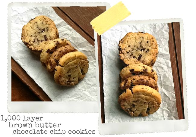 ... Thousand Layer Brown Butter Chocolate Chip Cookies | une Gamine dans