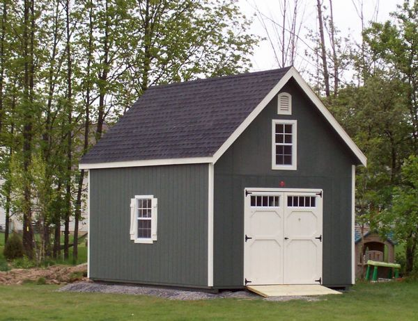 12x20 two story shed wood tex products garage addition for Two story shed