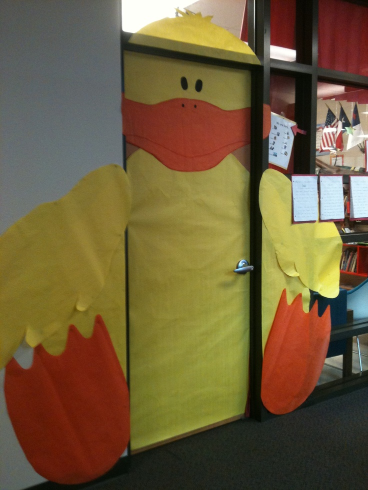 Classroom Door Decoration Ideas For Easter ~ Door decoration for easter classroom decorations