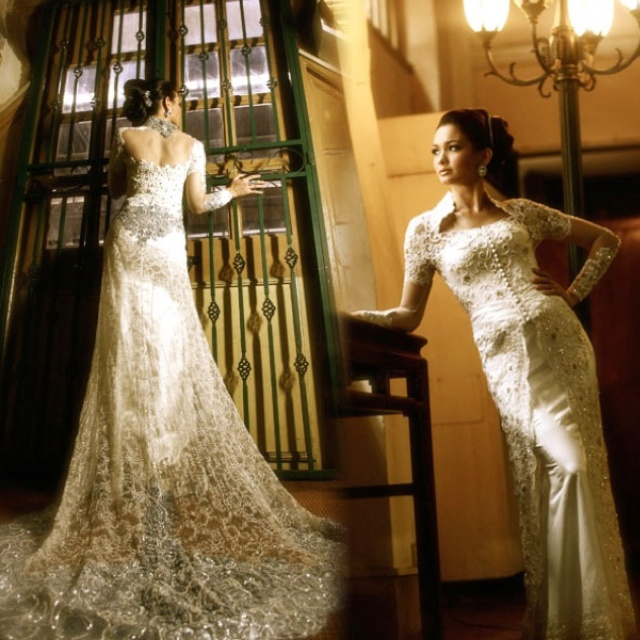 Wedding Dresses Malaysia : Malaysian wedding dress kabaya indonesian