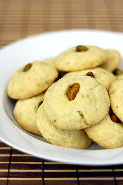 Pistachio Butter Cookies (for the lazy in all of us) - Citrus and ...