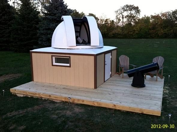 homemade observatories bing images backyard observatories pint