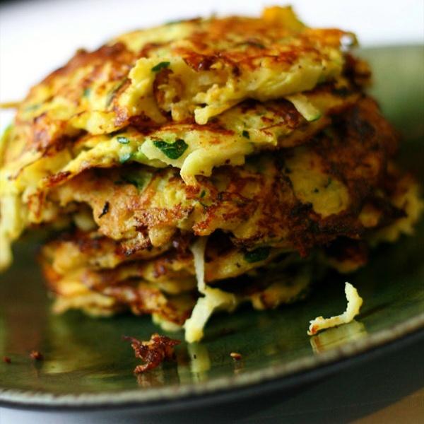 Paleo Zucchini Jicama Latkes   Food   Pinterest
