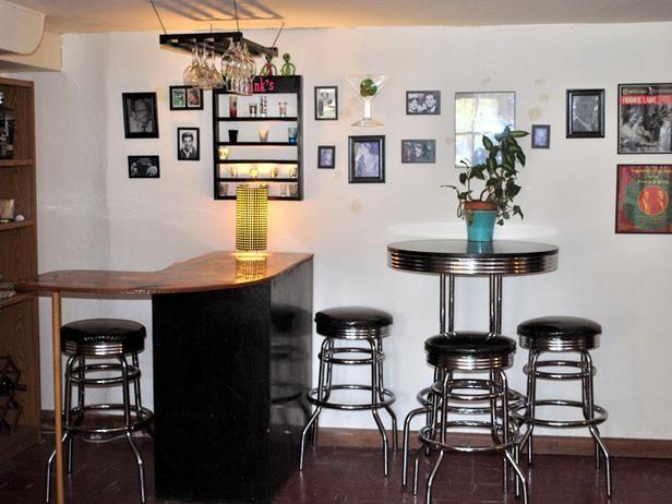 Small Basement Bar Basement Bar Pinterest