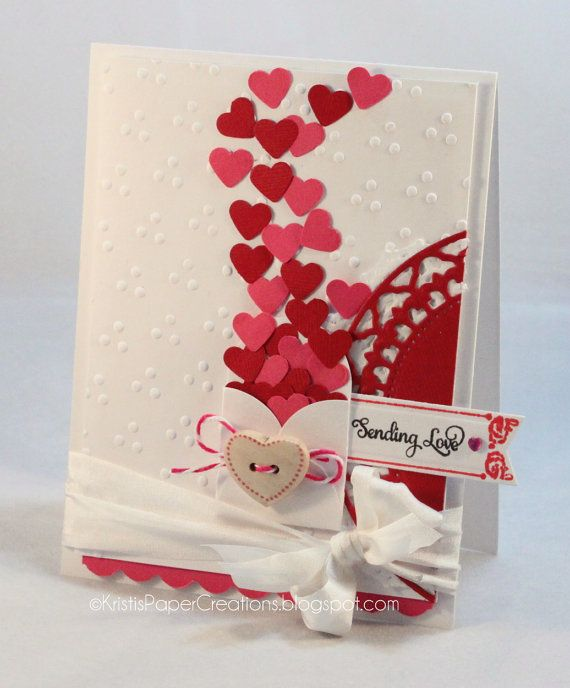 handmade valentine cards instructions