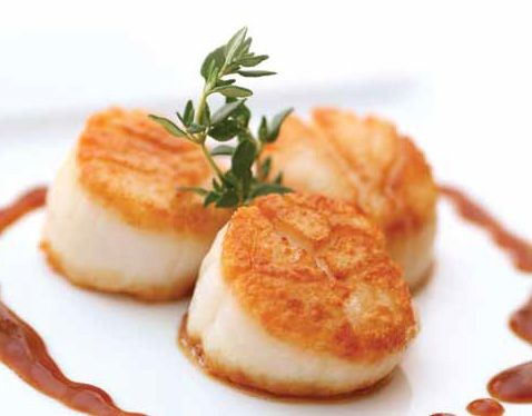 Honey Broiled Sea Scallops | Healthy Recipes | Pinterest