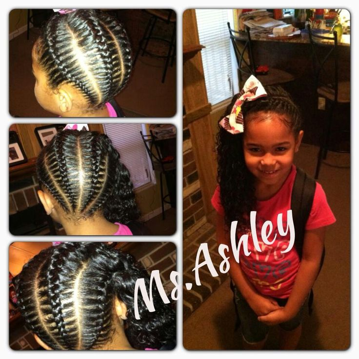 easy braid hairstyles for kids : Easy Hairstyles For Black Hair Girl hairstylegalleries.com