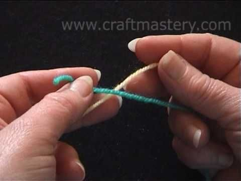 Crocheting How To Join Yarn : to crochet. Quite often in crochet you would need to join a new yarn ...