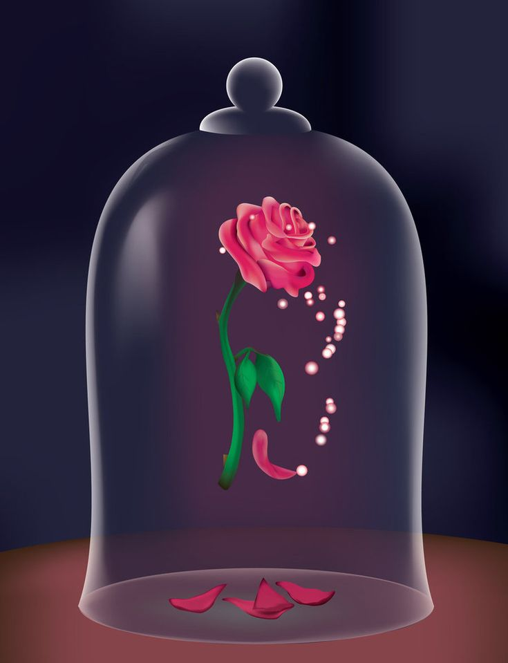 Beauty and the Beast rose | Tattoos | Pinterest Beauty And The Beast Rose