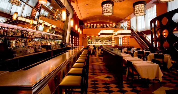 Bar americain times square restaurant interiors for American cuisine nyc