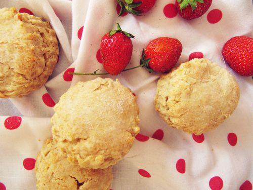 Strawberry Sorbet Honey Shortcakes   Recipes   Pinterest