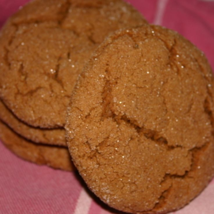 Pumpkin Molasses Cookies---made these with gf flour