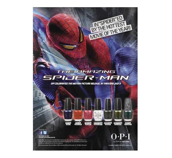 Spiderman + Nail polish = Awesome