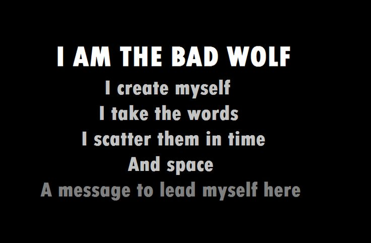 big bad wolf quotes