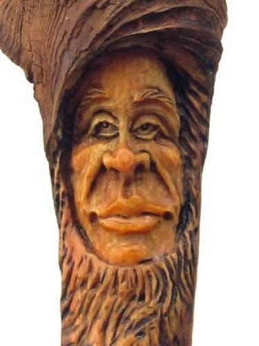 Wood carved face art pinterest