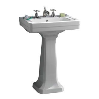 Porcher Pedestal Sink : Pin by Katy Koenig on bathroom downstairs remodel Pinterest