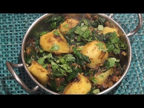 Saag Aloo (Spinach & Potato Curry) | Recipe