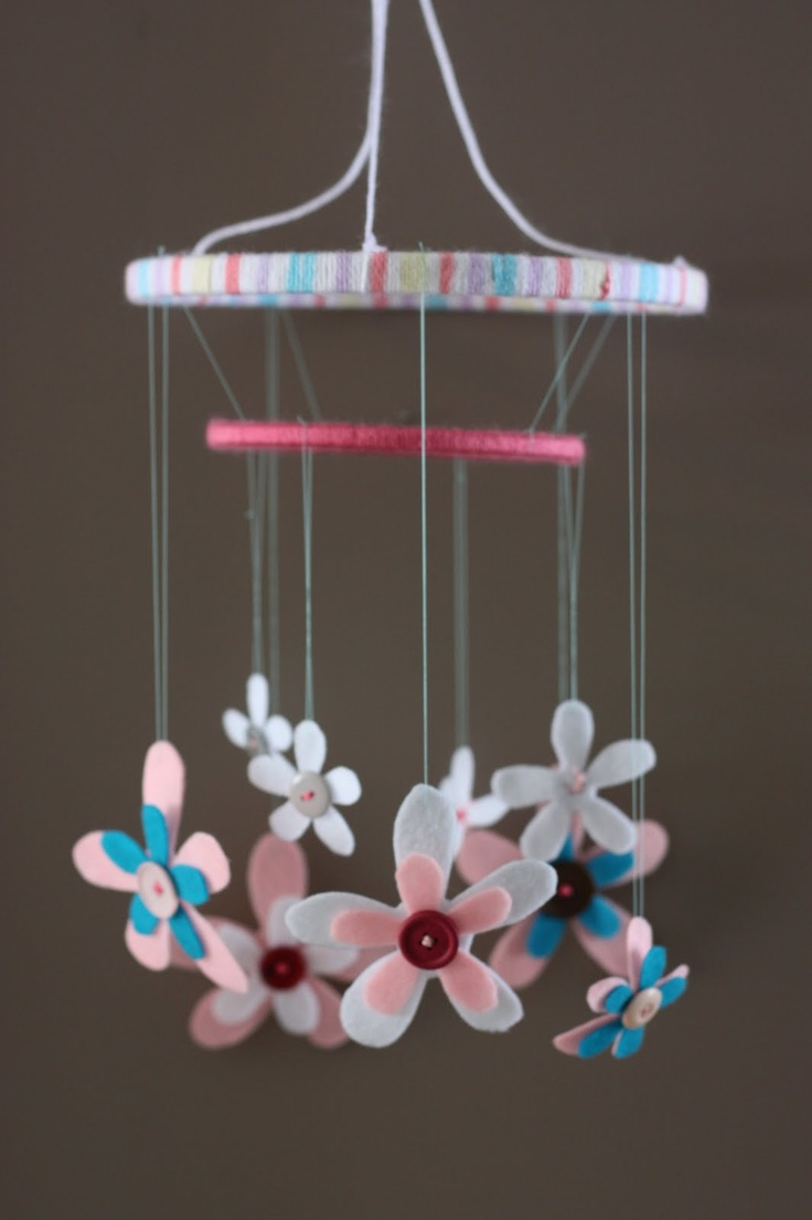 Create loves diy baby mobile ideas for our baby room for Diy baby mobile felt