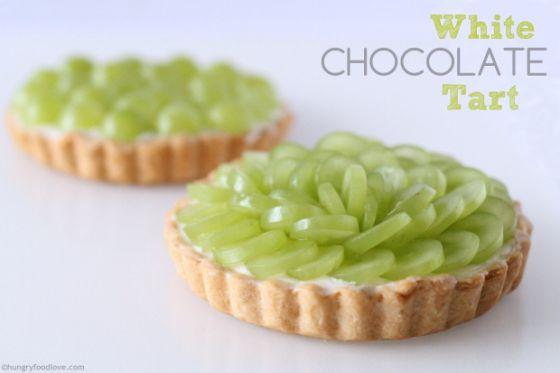 White Chocolate Mascarpone Tart   Cakes & Desserts   Pinterest