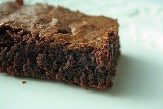 deep dark brownies | Brownies & Bars | Pinterest