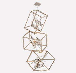Houdini Triple Pendant by Corbett Lighting
