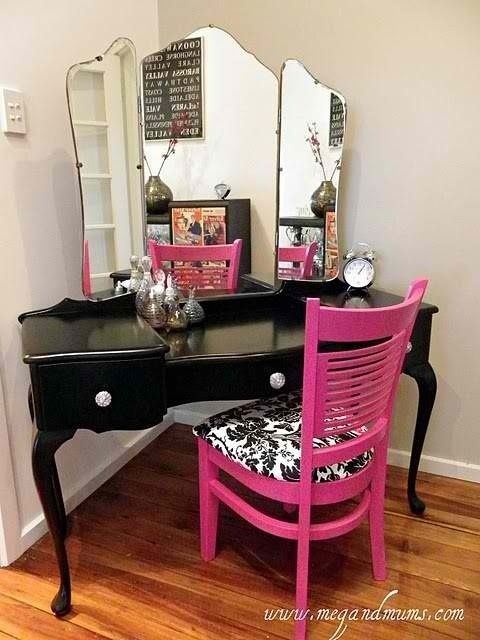 vanity for teen girl 39 s bedroom teenage girl 39 s bedroom pinterest
