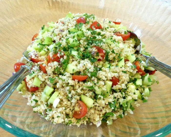 Tabbouleh Salad | Recipe