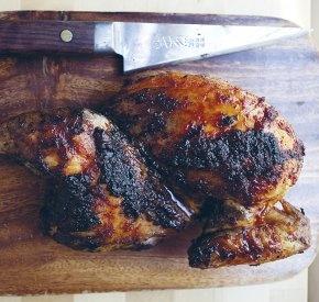 Ginger-Garlic Half Chicken Recipe | Tasty Recipes | Pinterest