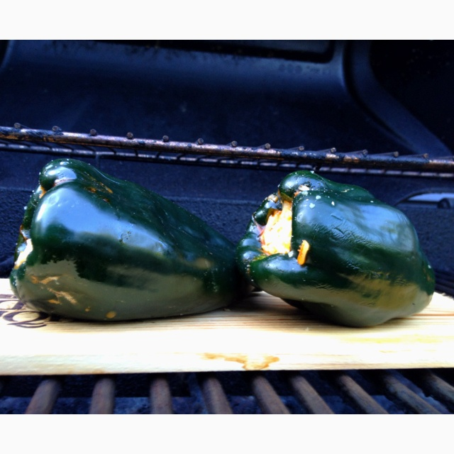 Grilled Chorizo Stuffed Poblano Peppers Recipes — Dishmaps